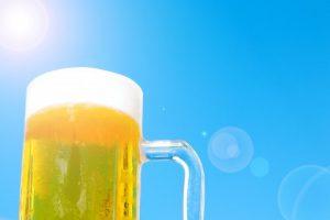 """夏、真っ只中 """"ふうりんとビール"""" 日曜日万歳!"""