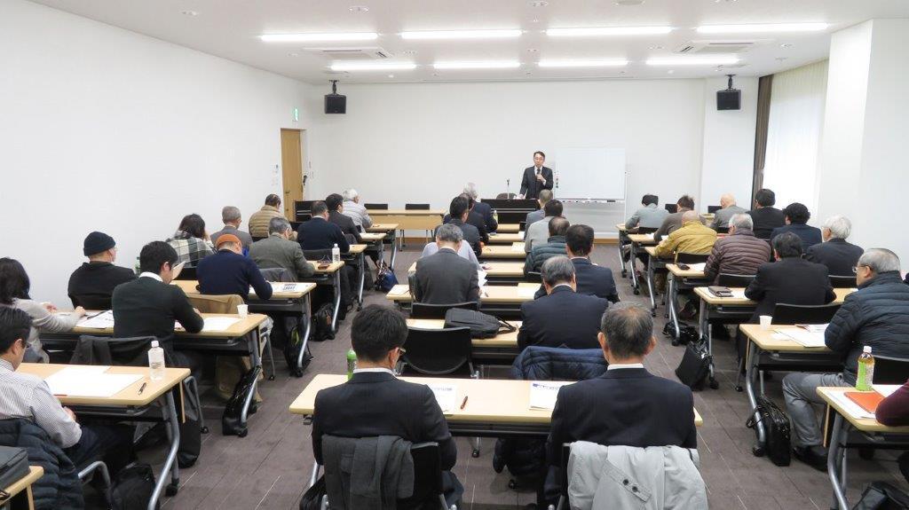 1/20に愛媛県不動産コンサルティング協議会が主催する「相続コンサルティング承継編」の研修講師を務めました